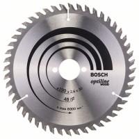 Пильный диск Optiline Wood 190 x 30 x 2,6 mm, 48 Bosch 2608640617