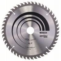 Пильный диск Optiline Wood 235x30/25x2,8 мм, 48 Bosch 2608640727