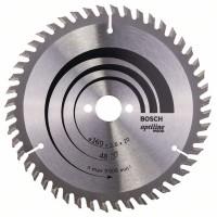 Пильный диск Optiline Wood 160x20/16x2,6 мм, 48 Bosch 2608640732