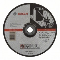 Обдирочный круг выпуклый Expert for Inox AS 30 S INOX BF 230x6,0 мм Bosch 2608600541