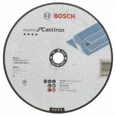 Отрезной круг прямой Expert for Cast Iron AS 24 R 230x3,0 мм Bosch 2608600546