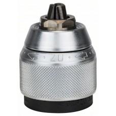 Быстрозажимной сверлильный патрон, хромированный 1,5-13 мм, 1/2' - 20 Bosch 2608572149