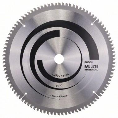 Пильный диск Multi Material 350 x 30 x 3,2 mm; 96 Bosch 2608640770