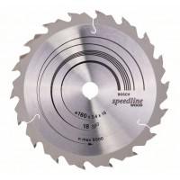Пильный диск Speedline Wood 160x16x2,4 мм, 18 Bosch 2608640785