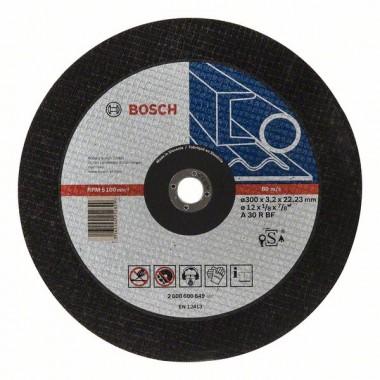 Отрезной круг прямой Expert for Metal A 30 R BF 300x3,2 мм Bosch 2608600649