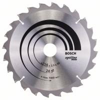 Пильный диск Optiline Wood 216x30x2,0 мм, 24 Bosch 2608640431