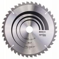 Пильный диск Optiline Wood 254x30x2,0 мм, 40 Bosch 2608640435