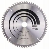 Пильный диск Optiline Wood 254 x 30 x 2,8 mm, 60 Bosch 2608640444