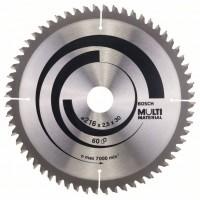 Пильный диск Multi Material 216x30x2,5 мм; 60 Bosch 2608640446