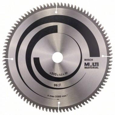 Пильный диск Multi Material 305 x 30 x 3,2 mm; 96 Bosch 2608640453