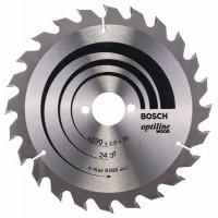 Пильный диск Optiline Wood 190x30x2,0 мм, 24 Bosch 2608641185