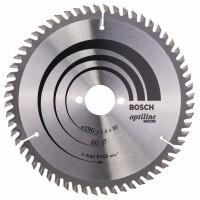 Пильный диск Optiline Wood 190x30x2,6 мм, 60 Bosch 2608641188