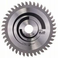 Пильный диск Multi Material 130x20/16x2,0 мм; 42 Bosch 2608641195