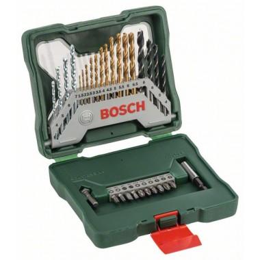 Набор из 30 предметов X-Line Titanium Bosch 2607019324