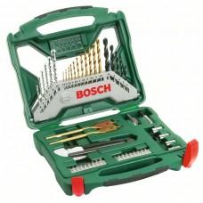 Набор из 50 предметов X-Line Titanium Bosch 2607019327