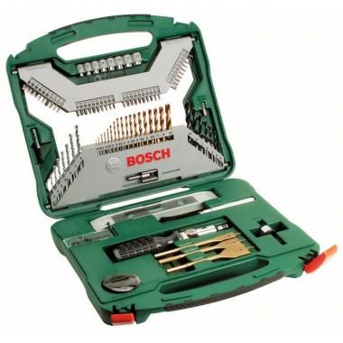 Набор из 100 предметов X-Line Titanium Bosch 2607019330