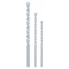 Набор из 3 сверл по камню 5,0x85; 6,0x100; 8,0x120 Bosch 2609255458