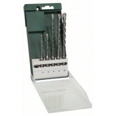 Набор из 5 буров SDS-plus 5,0x110; 6,0x110; 6,0x160; 8,0x160; 10,0x160 мм Bosch 2609255541