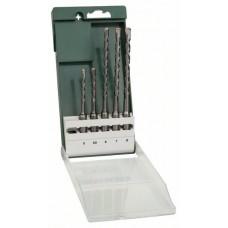 Набор из 5 буров SDS-plus 5,0x110; 5,5x110; 6,0x160; 7,0x160; 8,0x160 мм Bosch 2609255542