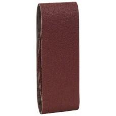 Набор из 3 шлифлент «красное» качество 40, без отверстий, на зажимах Bosch 2609256204