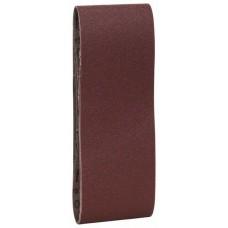 Набор из 3 шлифлент «красное» качество 100, без отверстий, на зажимах Bosch 2609256207