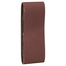 Набор из 3 шлифлент «красное» качество 150, без отверстий, на зажимах Bosch 2609256208