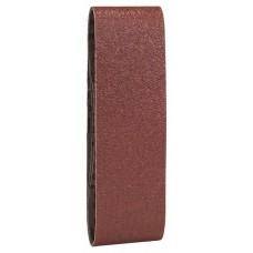 Набор из 3 шлифлент «красное» качество 40, без отверстий, на зажимах Bosch 2609256216