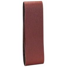 Набор из 3 шлифлент «красное» качество 60, без отверстий, на зажимах Bosch 2609256217