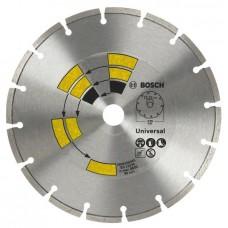 Алмазный диск Universal 125x22,23x1,7x7,0 мм Bosch 2609256401
