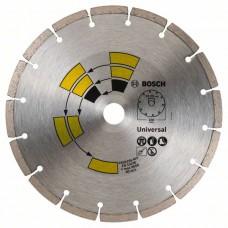 Алмазный диск Universal 230x22,23x2,4x7,0 мм Bosch 2609256403