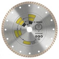 Алмазный диск Universal Turbo 125x22,23x2,0x8,0 мм Bosch 2609256408