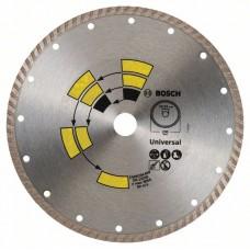Алмазный диск Universal Turbo 230x22,23x2,6x8,0 мм Bosch 2609256409