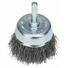 Круглая щетка для дрелей - витая проволока, 50 мм 50 мм, 0,3 мм, 4500 об/мин Bosch 2609256515