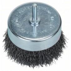 Круглая щетка для дрелей - витая проволока, 80 мм 80 мм, 0,3 мм, 4500 об/мин Bosch 2609256520