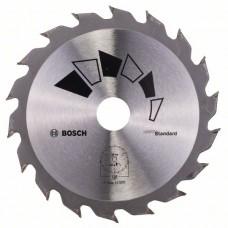 Пильный диск STANDARD 130x20x2,2 мм, 18 Bosch 2609256802