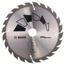 Пильный диск STANDARD 150x20x2,2 мм, 24 Bosch 2609256806