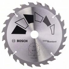 Пильный диск STANDARD 170x20x2,2 мм, 24 Bosch 2609256812