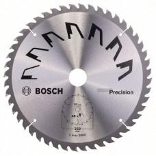 Пильный диск PRECISION 250x30x3,2 мм, 48 Bosch 2609256879