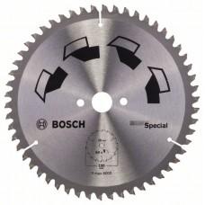 Пильный диск SPECIAL 190x20x2,5 мм, 54 Bosch 2609256891