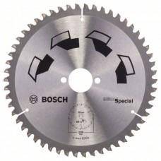 Пильный диск SPECIAL 190x30x2,5 мм, 54 Bosch 2609256892