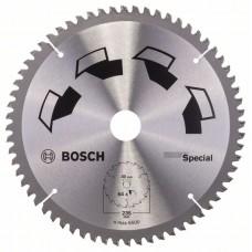 Пильный диск SPECIAL 235x30x2,5 мм, 64 Bosch 2609256895