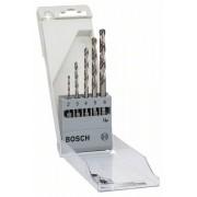 Набор из 5 сверл по металлу HSS-G, DIN 338 2; 3; 4; 5; 6 мм Bosch 2608595517