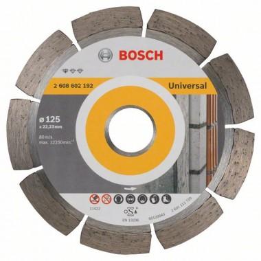 Алмазный диск Standard for Universal 125x22,23x1,6x10 мм Bosch 2608602192