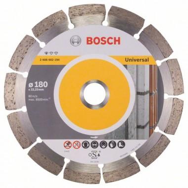 Алмазный диск Standard for Universal 180x22,23x2x10 мм Bosch 2608602194