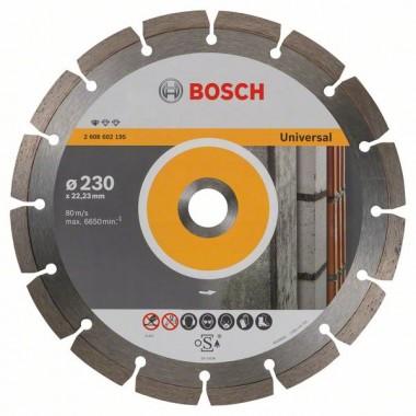 Алмазный диск Standard for Universal 230x22,23x2,3x10 мм Bosch 2608602195
