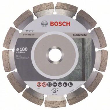 Алмазный диск Standard for Concrete 180x22,23x2x10 мм Bosch 2608602199