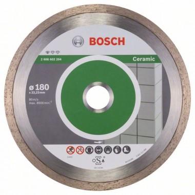 Алмазный диск Standard for Ceramic 180x22,23x1,6x7 мм Bosch 2608602204