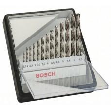 Набор из 13 сверл по металлу Robust Line HSS-G 135° Bosch 2607010538