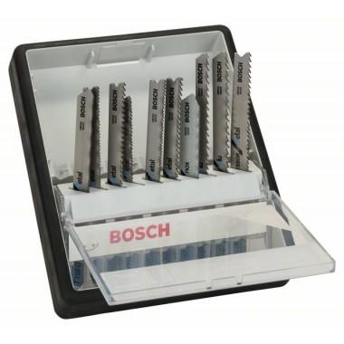 Набор из 10 пильных полотен Robust Line Metal Expert, с T-образным хвостовиком Bosch 2607010541