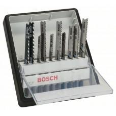 Набор Robust Line из 10 пильных полотен Wood and Metal с T-образным хвостовиком Bosch 2607010542